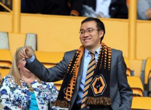 Wolves executive chairman Jeff Shi says the club plan to invest 'heavily' in their academy in the coming years.