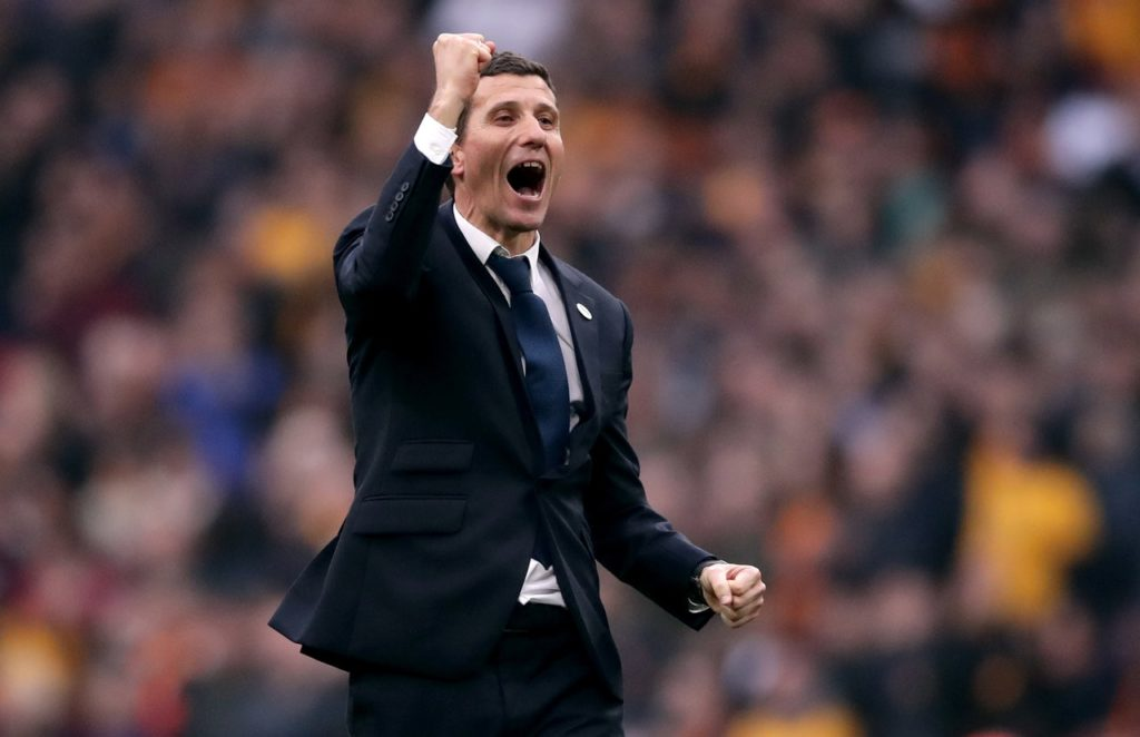 Javi Gracia is in need of a win in the Carbao Cup.