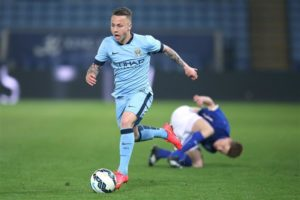 Manchester City are considering exercising their buy-back option to re-sign PSV Eindhoven full-back Angelino.