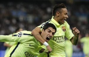 Luis Suarez would welcome Neymar back to Barcelona, with reports the Brazilian's time at Paris Saint Germain might be ending soon.
