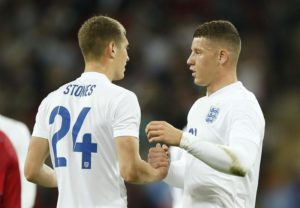 Gareth Southgate has jumped to the defence of Manchester City defender John Stones following his blunder in England's defeat with Holland.