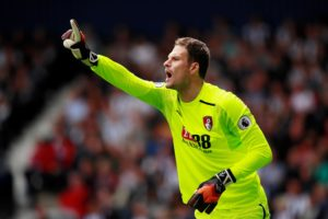 Asmir Begovic says he isn't looking for a move away from Bournemouth and hopes to re-establish himself as their first choice keeper.