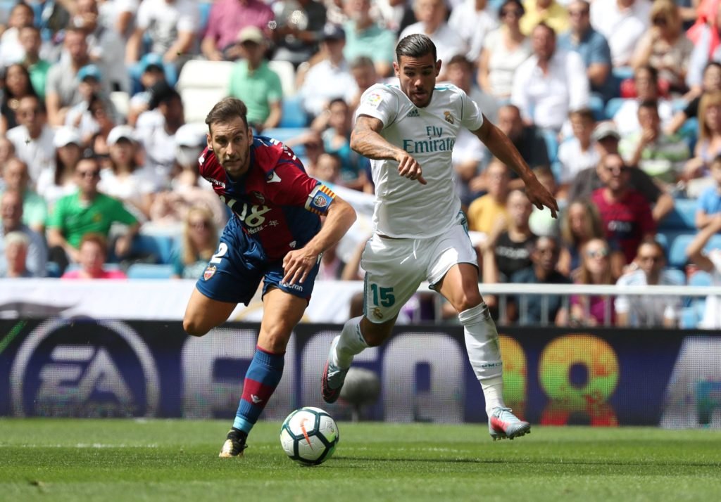 Real Madrid left-back Theo Hernandez is reported to be closing in on a move to AC Milan after being spotted with Paolo Maldini.