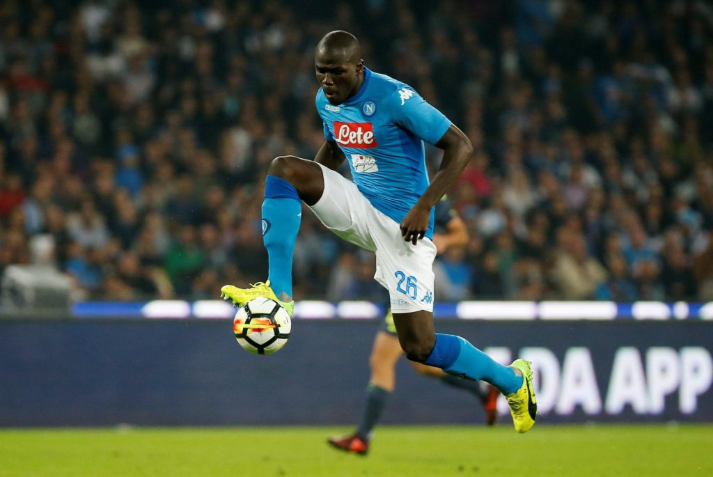 Liverpool have reportedly joined rivals Manchester United in the race to sign Napoli defender Kalidou Koulibaly.