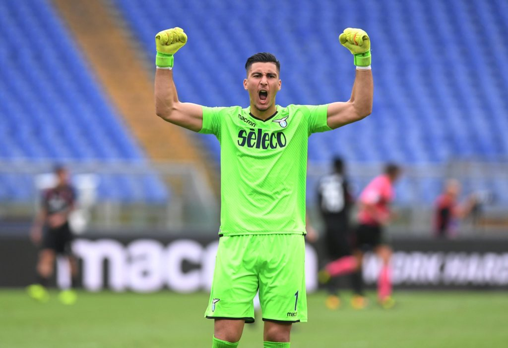 Arsenal are being linked with a swoop for Lazio goalkeeper Thomas Strakosha as a replacement for Petr Cech.