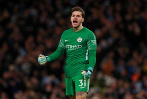 Bernardo Silva believes his Manchester City team-mate Ederson is such a capable keeper with the ball at his feet that he could play outfield.