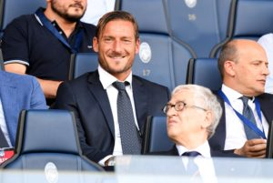 Roma director Francesco Totti has resigned from his role and ended his 30-year association with the Serie A club.