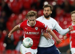 Stoke are reported to be closing in on the signing of Barnsley defender Liam Lindsay after agreeing a fee of £2million.