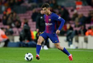 PSG want to add Barcelona midfielder Philippe Coutinho to their squad in the summer, according to reports.