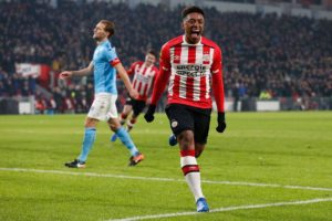 Mark van Bommel has admitted that Steven Bergwijn could leave PSV Eindhoven this summer if rivals Ajax 'pay the right price'.