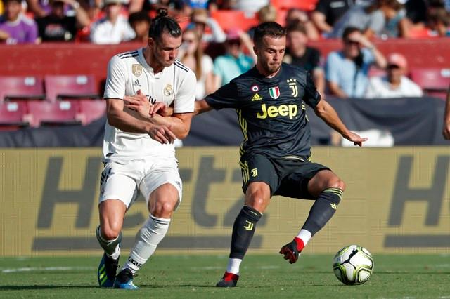 Midfielder Miralem Pjanic has played down speculation he could leave Juventus this summer.