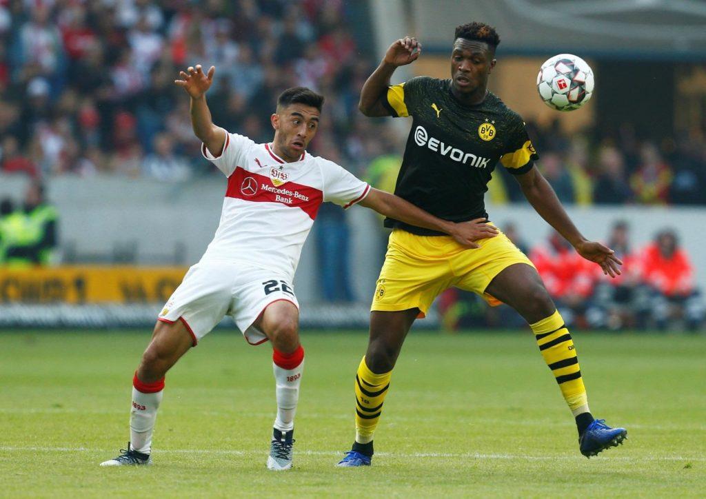 Borussia Dortmund centre-back Dan-Axel Zagadou is on the wanted list of Premier League side Arsenal.