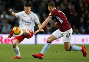 Nottingham Forest may price Joe Lolley out of a move to Aston Villa by slapping a £15million price tag on the winger.