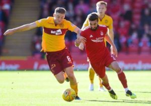 Motherwell midfielder David Turnbull has moved closer to joining Celtic after flying home from his holiday to complete a medical.
