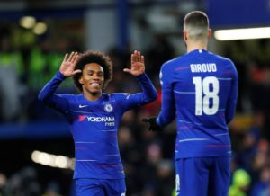 Chelsea are reportedly keen on offering Willian a new deal at Stamford Bridge but the two parties are some way apart on agreeing terms.