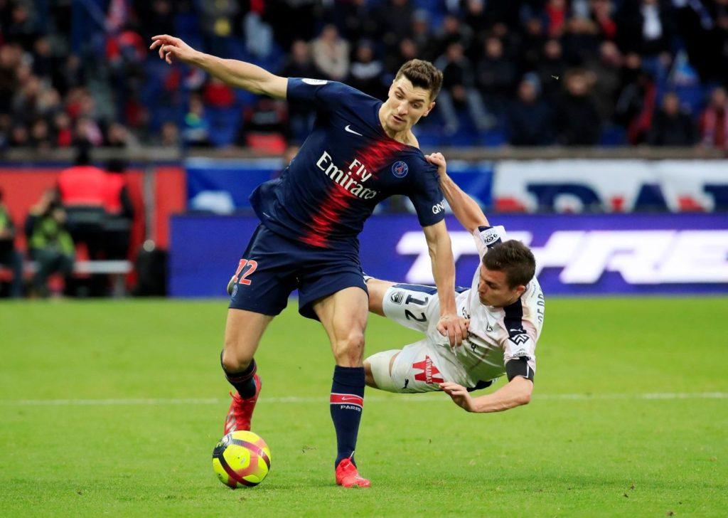Paris Saint-Germain defender Thomas Meunier is happy where he is.