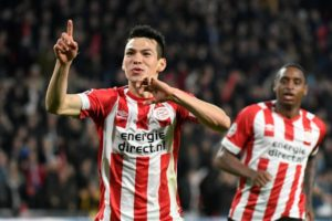 PSV winger Hirving Lozano is reportedly on the verge of completing a move to Serie A outfit Napoli.