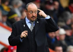 Former Newcastle United defender Olivier Bernard says he is 'saddened' by the club's decision to let Rafa Benitez leave the club.