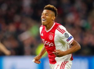 David Neres has dropped a big hint that he will be remaining at Ajax this summer despite reported interest from elsewhere.
