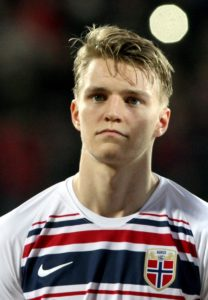 Bayer Leverkusen are hoping to wrap up a loan deal for Real Madrid starlet Martin Odegaard but face competition for his signature.