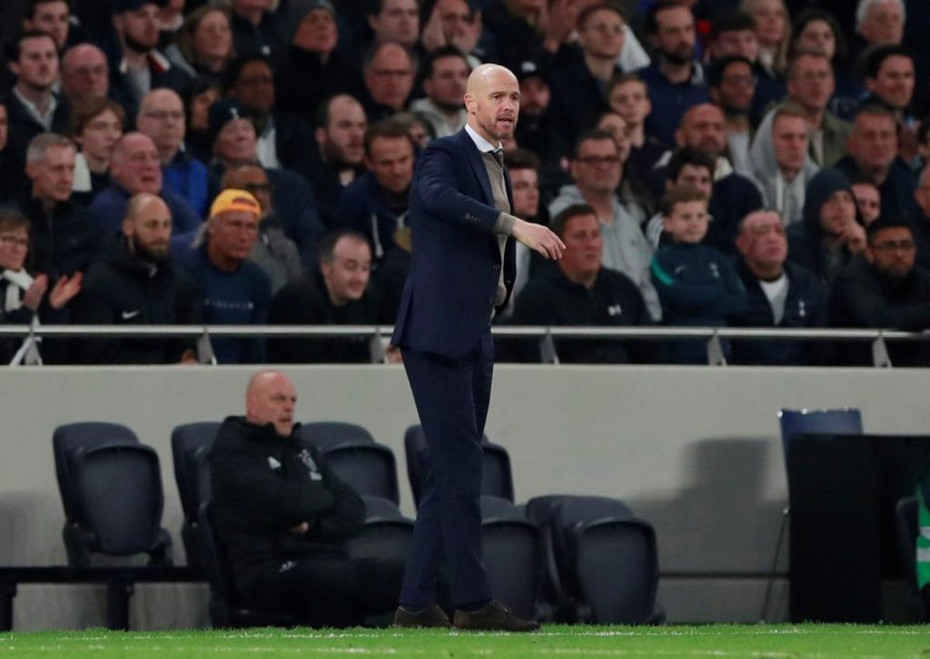 Ajax have reportedly rejected by an approach from Roma for their head coach Erik ten Hag.