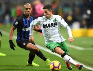 Stefano Sensi is believed to be closing in on a move to Inter Milan, Sassuolo director Giovanni Carnevali has confirmed.