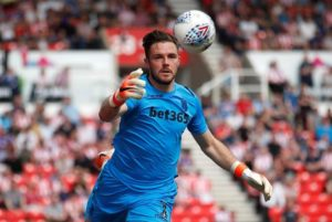Bournemouth's hopes of signing Jack Butland this summer have been boosted by Stoke's swoop to sign Barnsley goalkeeper Adam Davies.