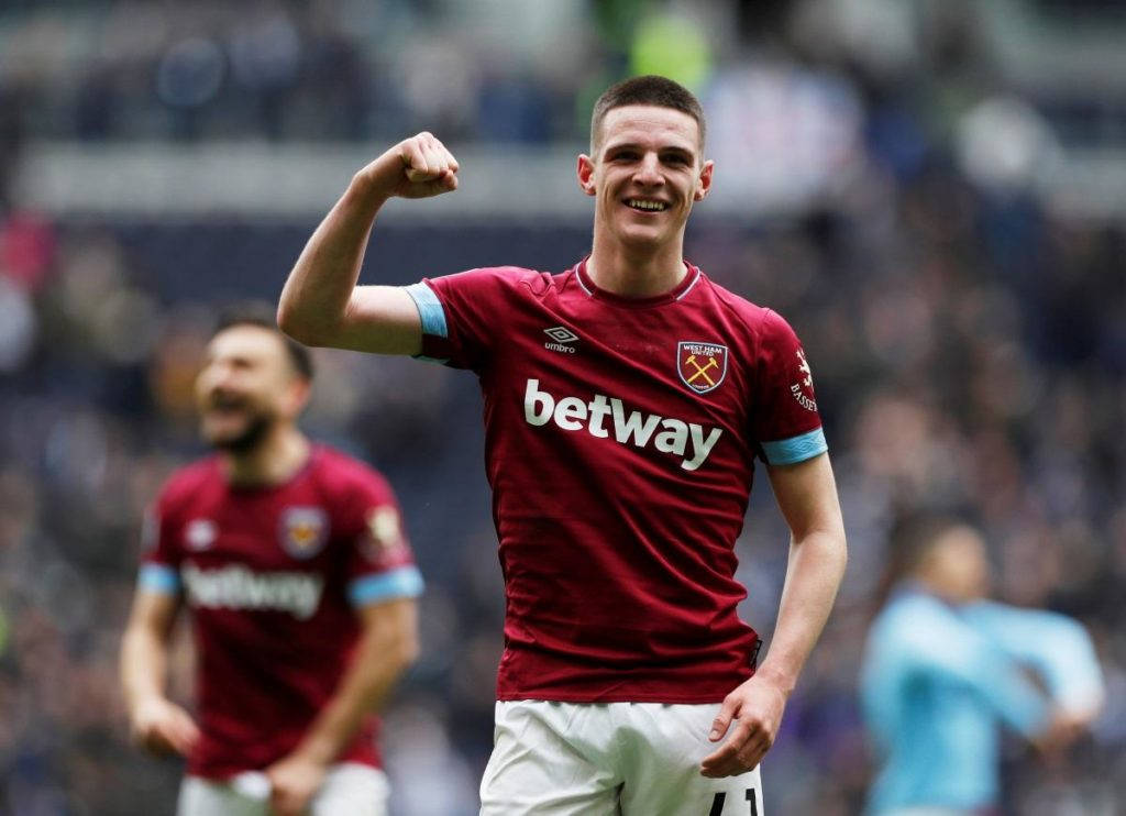 Declan Rice would have turned down Manchester United.