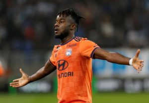 Lyon forward Maxwel Cornet says he is flattered by reports linking him with a summer move to Liverpool.