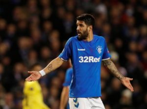 Daniel Candeias says he hasn't thought about leaving Rangers as he looks to help the club end their Premiership title drought.