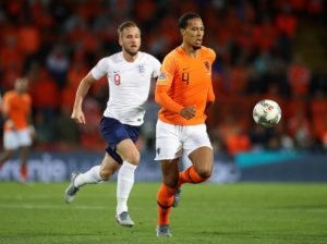Virgil van Dijk is keen to end his season with more trophy joy after helping the Netherlands reach Sunday's Nations League final.
