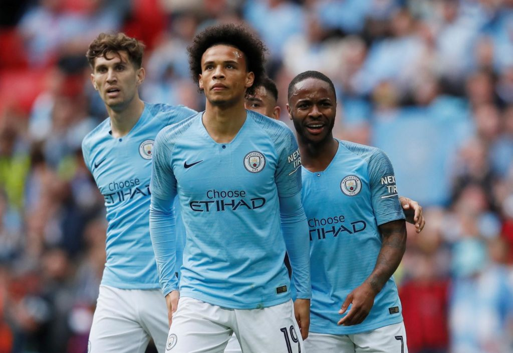 Manchester City star Leroy Sane refused to rule out a move to Bayern Munich after helping Germany to an 8-0 win over Estonia on Tuesday night.