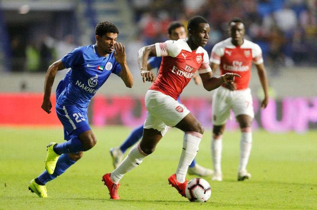 Reports claim Arsenal youngster Jordi Osei-Tutu is closing in on a switch to Bundesliga outfit Hamburg.