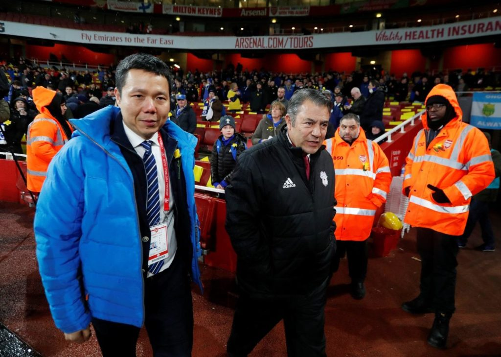 Cardiff chairman Mehmet Dalman is reportedly in advanced takeover talks with their soon-to-be Championship rivals Charlton.