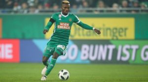 Burnley are reportedly interested in trying to sign Rapid Vienna's Belgian left-back Boli Bolingoli-Mbombo this summer.