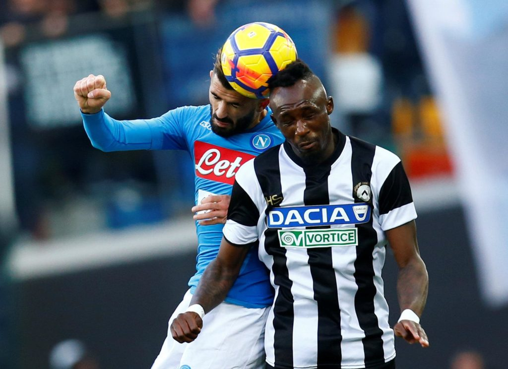 Crystal Palace have been linked with a summer swoop for the in-demand Udinese midfielder Seko Fofana.