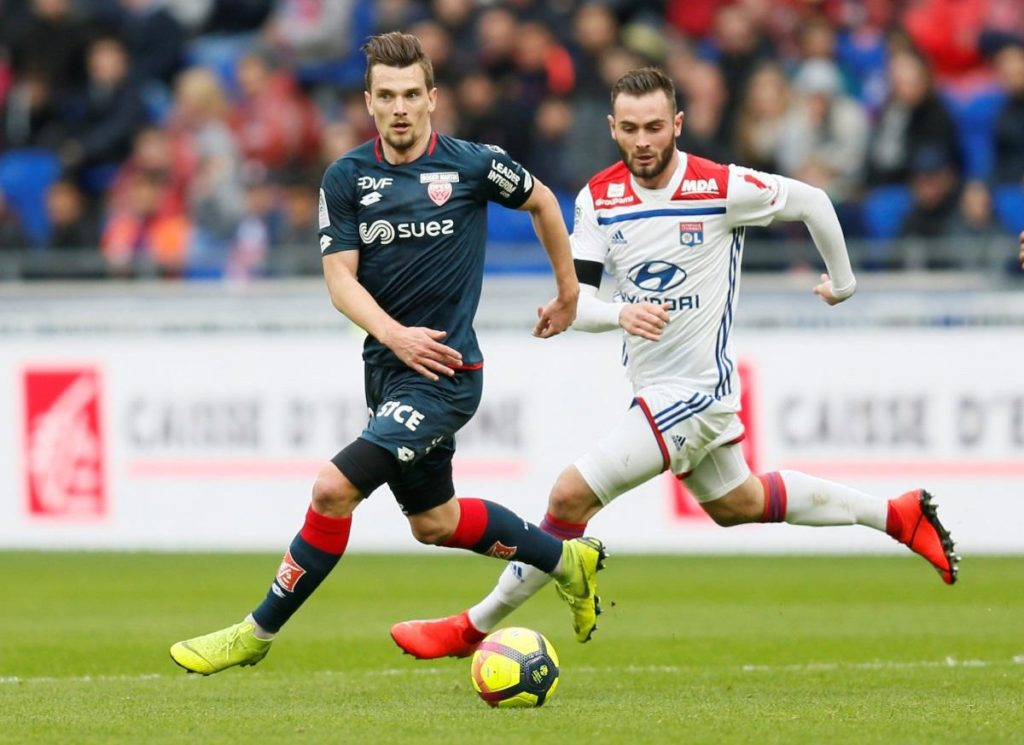 Lyon may have to fend off both Inter and Wolves this summer if they want to keep hold of versatile midfielder Lucas Tousart.