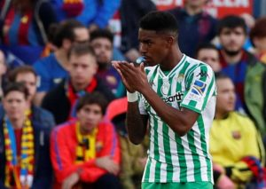 Real Betis left-back Junior Firpo has distanced himself from reports claiming Real Madrid are looking to sign him this summer.