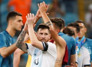 Lionel Messi hopes Argentina's victory over Qatar can act as a springboard for success in the knockout stages of the Copa America.