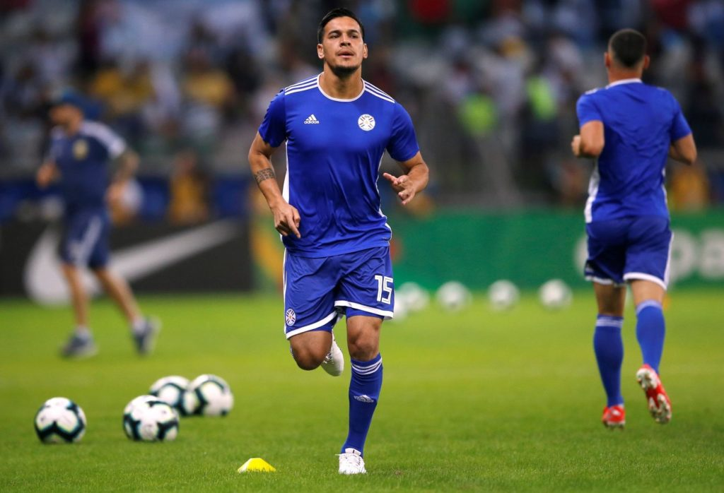 Reports in South America claim Crystal Palace have been scouting Paraguay international Gustavo Gomez.