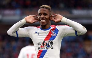 Roy Hodgson has revealed that Arsenal have not got 'anywhere near' Crystal Palace's valuation of talisman Wilfried Zaha this summer.