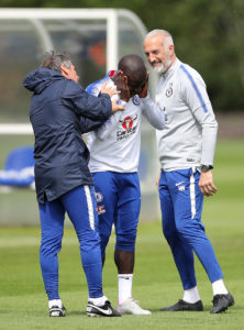 Chelsea have been hit by the news N'Golo Kante has been sent home from Japan as he struggles with a knee injury.