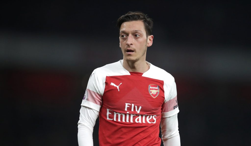 Mesut Ozil could be considering a move to Washington.