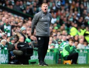 Celtic boss Neil Lennon says his side still have work to do if they are to secure their progress through in the Champions League.