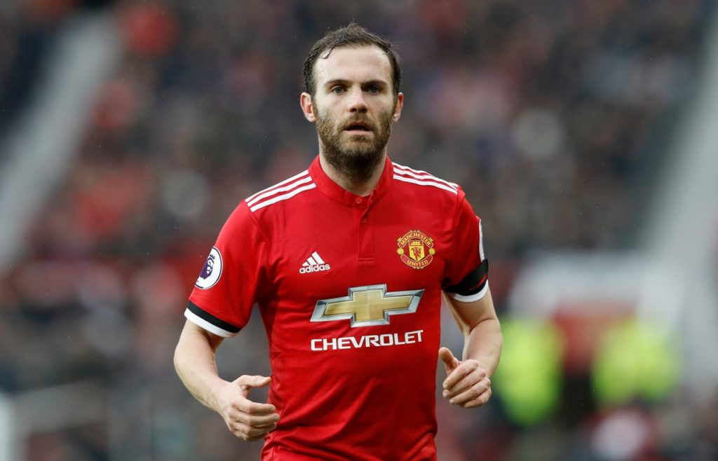 Juan Mata reportedly agreed a hefty pay cut following his recent decision to continue playing at Manchester United.