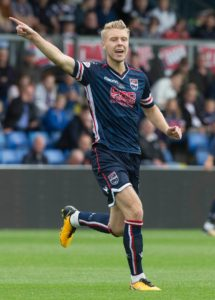 Rotherham have signed Jamie Lindsay from Ross County for an undisclosed fee.