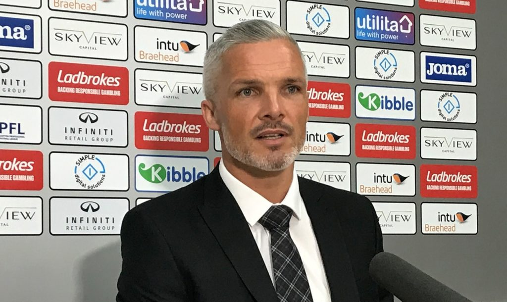 St Mirren manager Jim Goodwin admitted it was a case of deja vu after his side exited the Betfred Cup after failing to beat Albion.