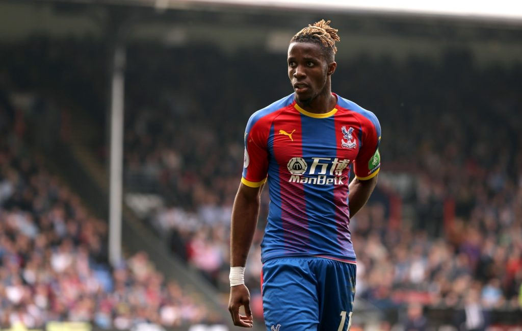 Wilfried Zaha may have resigned himself to missing out on a move to Arsenal with a cryptic message on social media.