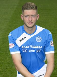 St Johnstone defender Liam Gordon faces four to six weeks out after fracturing an elbow in training.