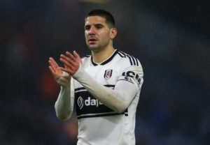 Striker Aleksandar Mitrovic has committed his future to Fulham in the wake of relegation from the Premier League by signing a new contract.